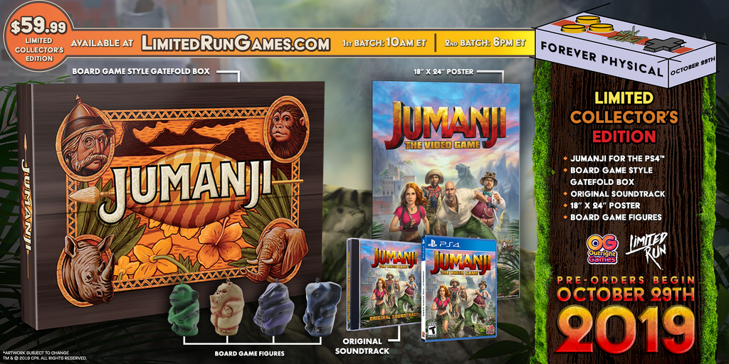 JUMANJI: The Video Game Collector's Edition (PS4)