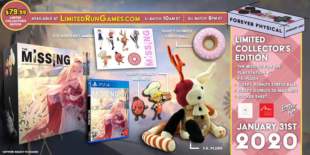 Limited Run #323: The Missing Collector's Edition (PS4)