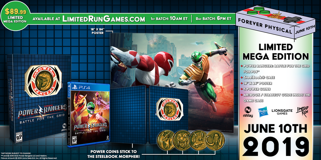 Limited Run #276: Power Rangers: Battle for the Grid Mega Edition (PS4) [PREORDER]