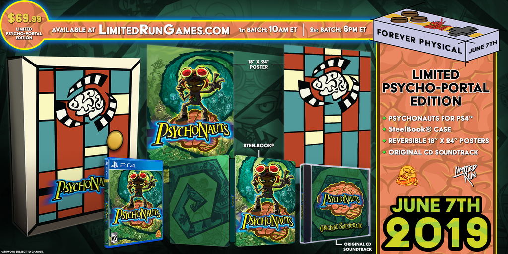 Limited Run #271: Psychonauts Psycho-Portal Edition (PS4)