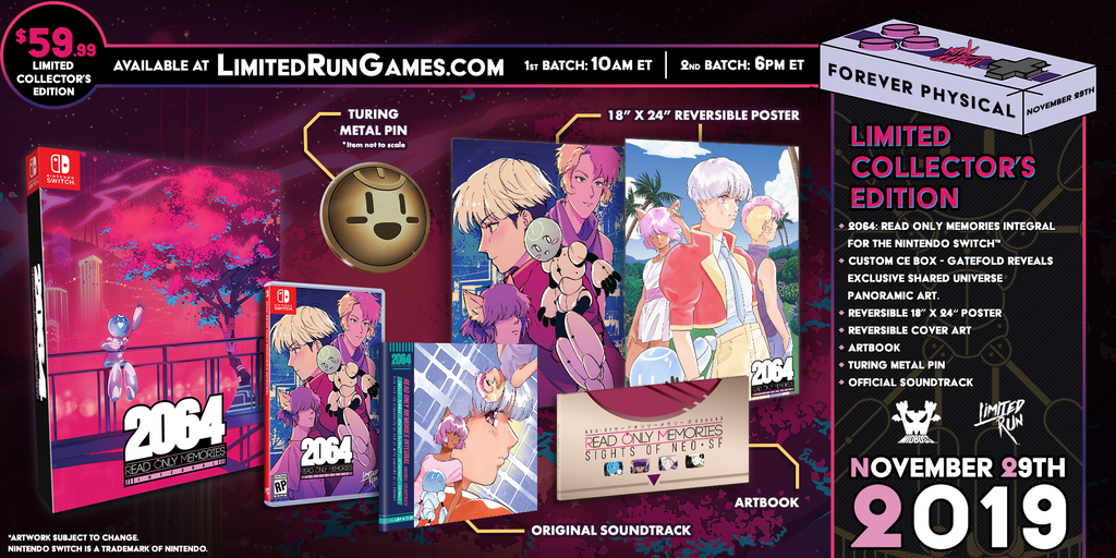 2064: Read Only Memories Collector's Edition