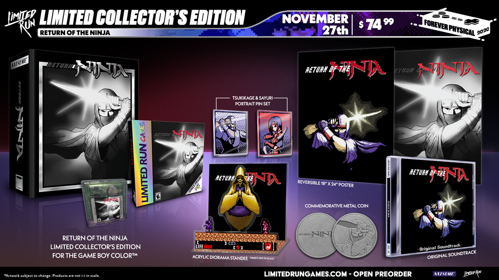 Return of the Ninja (GBC) Collector's Edition