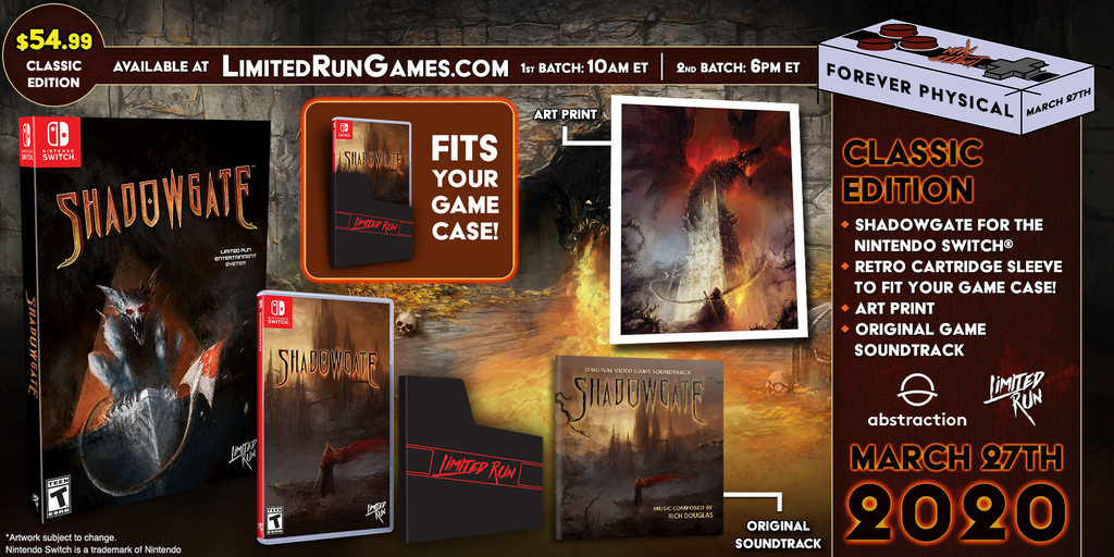 Switch Limited Run #66: Shadowgate Classic Edition [PREORDER]