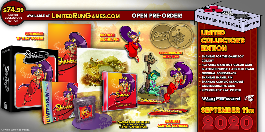 Shantae Collector's Edition (GBC)
