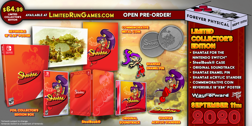 Switch Limited Run #83: Shantae Collector's Edition