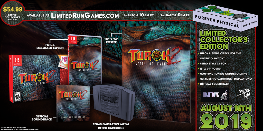 Switch Limited Run #44: Turok 2 Classic Edition