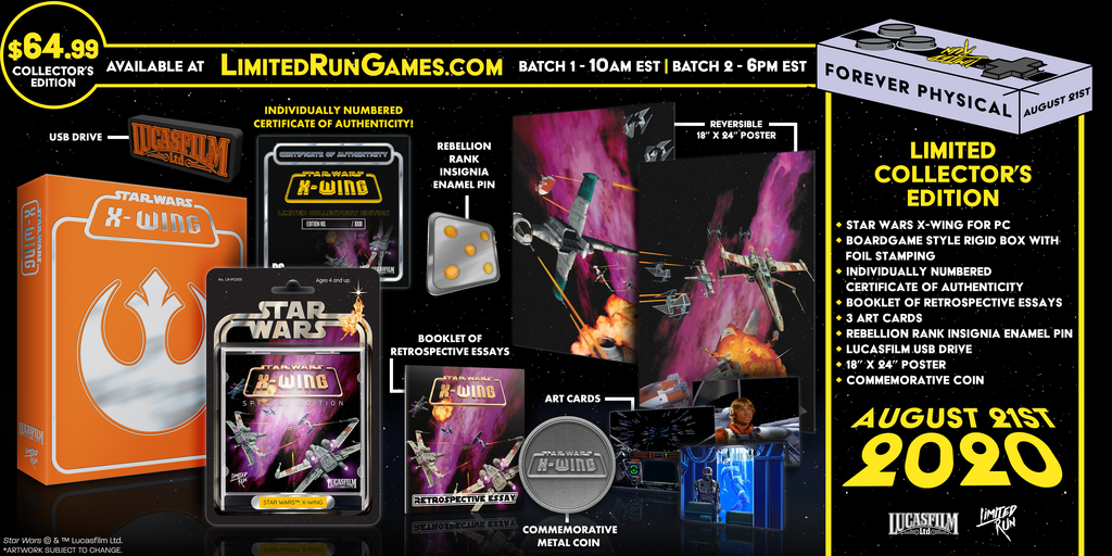 Star Wars: X-Wing Special Edition Premium Edition (PC)