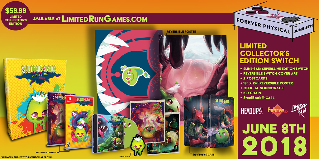 Switch Limited Run #6: Slime-san Collector's Edition [PREORDER]