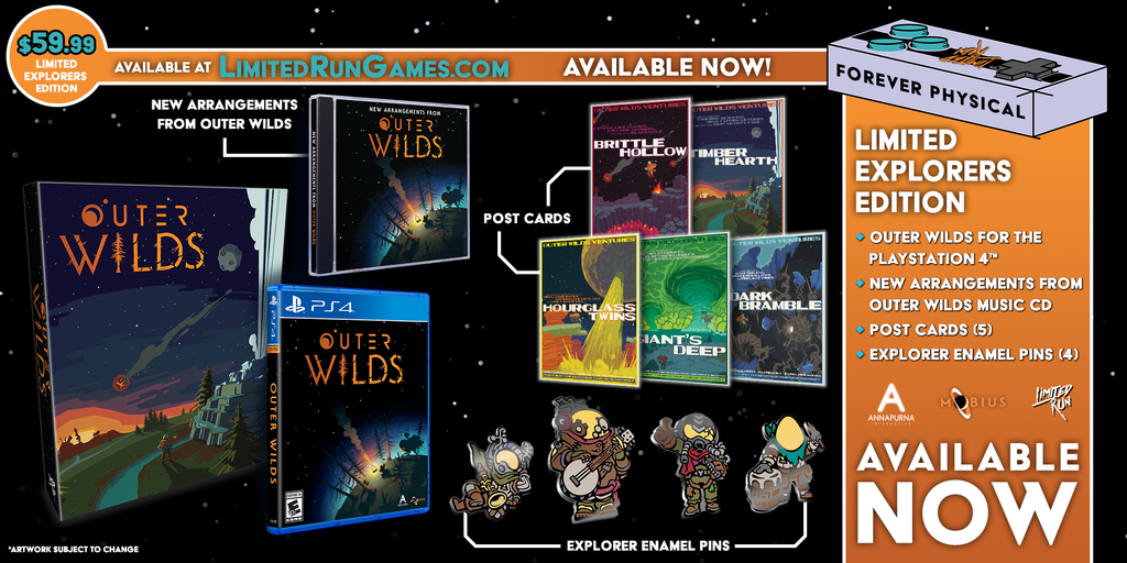 Limited Run #348: Outer Wilds Explorers Edition (PS4) [PREORDER]