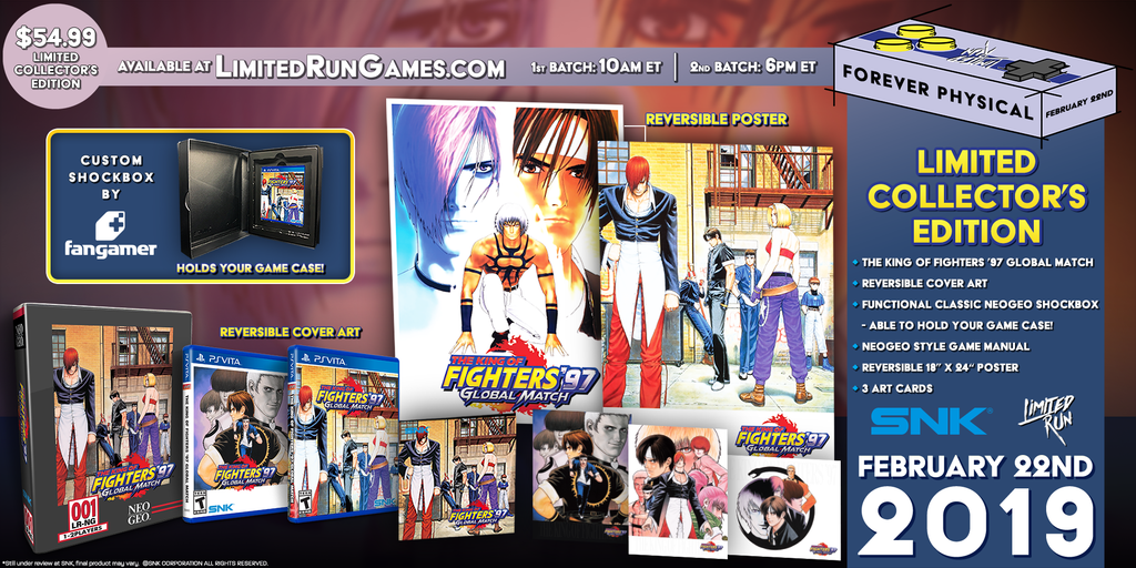 Limited Run #205: King of Fighters 97 Global Match Classic Edition (Vita)