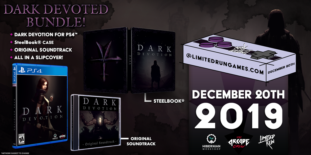 Limited Run #318: Dark Devotion Devoted Bundle (PS4)