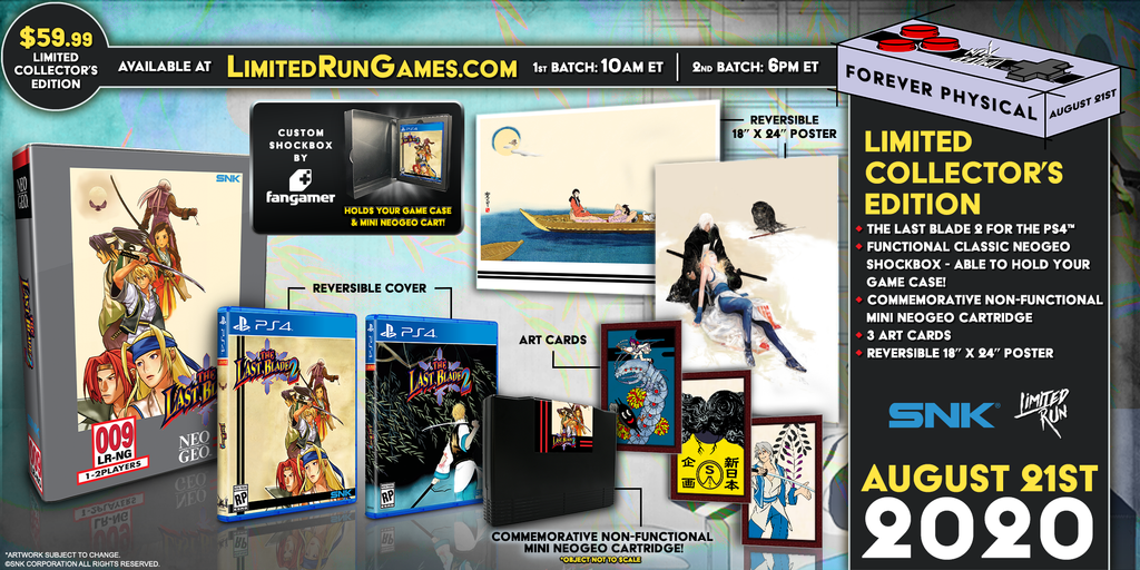 Limited Run #358: The Last Blade 2 Collector's Edition (PS4)