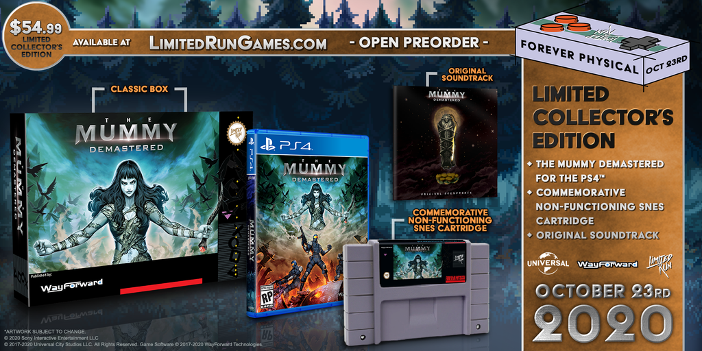 Limited Run #372: The Mummy Demastered Collector's Edition (PS4)