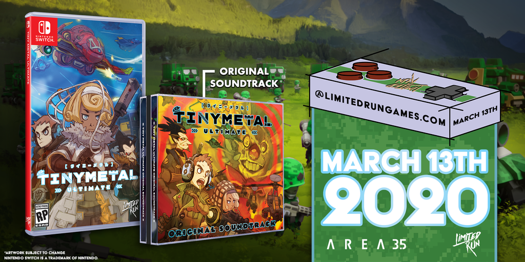 Switch Limited Run #64: Tiny Metal Ultimate Bundle [PREORDER]