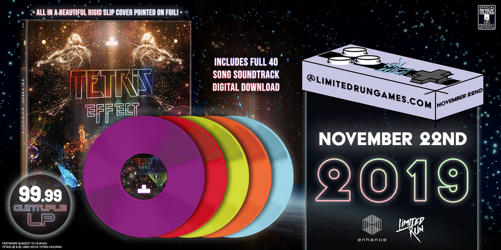 LRV #4: 5LP Tetris Effect Original Soundtrack: Perfect Collection [PREORDER]