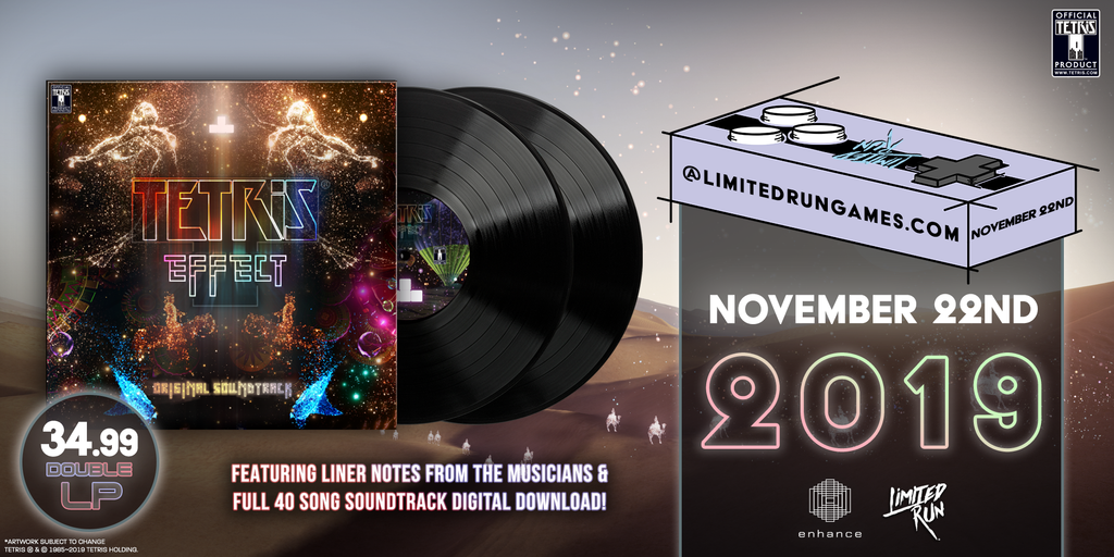LRV #4: 2LP Tetris Effect Original Soundtrack [PREORDER]