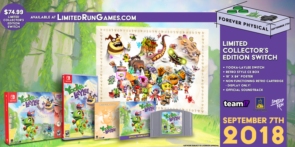 Switch Limited Run #13: Yooka-Laylee Classic Edition