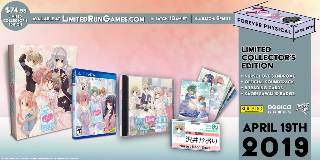 Limited Run #233: Nurse Love Syndrome Collector's Edition (Vita)