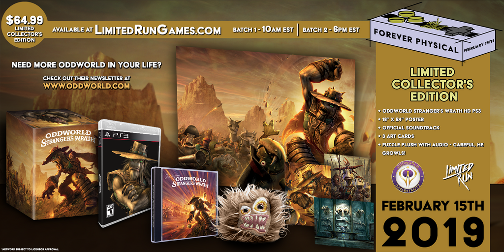 Limited Run #244: Oddworld Stranger's Wrath Collector's Edition (PS3)