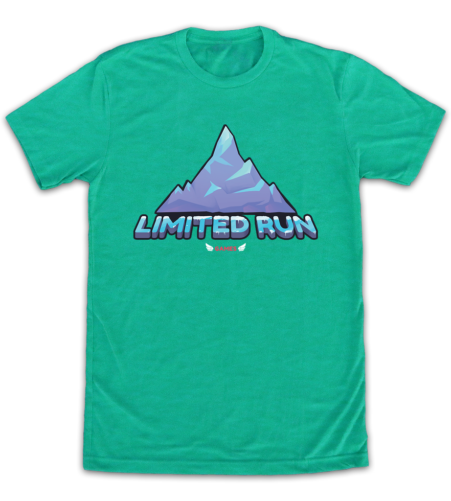 Limited Run Games 5th Anniversary Shirt: Celeste