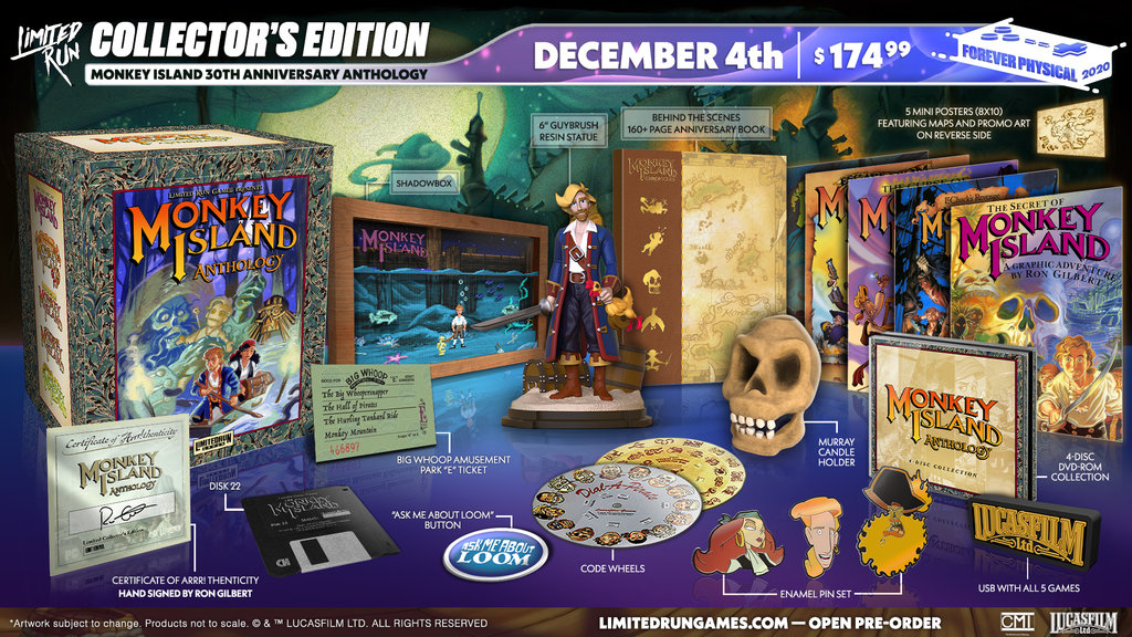 Monkey Island 30th Anniversary Anthology (PC)