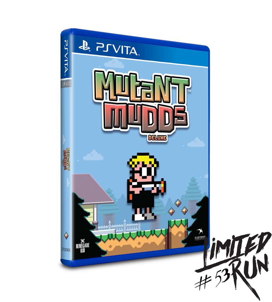Limited Run #53: Mutant Mudds Deluxe (Vita)