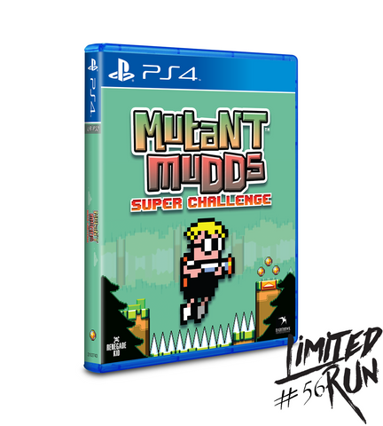 Limited Run #56: Mutant Mudds Super Challenge (PS4)