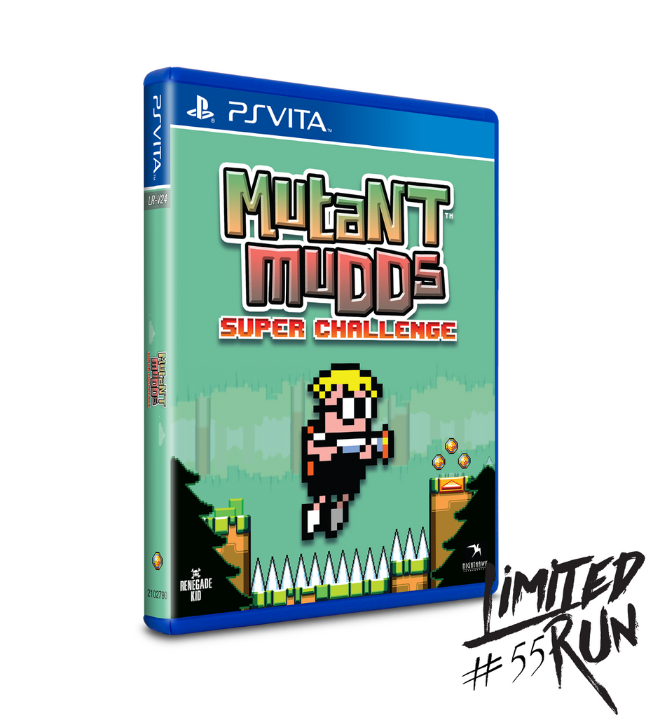 Limited Run #55: Mutant Mudds Super Challenge (Vita)