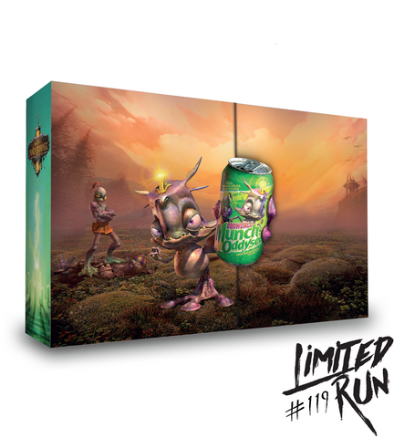 Limited Run #119: Munch's Oddysee Collector's Edition (Vita)