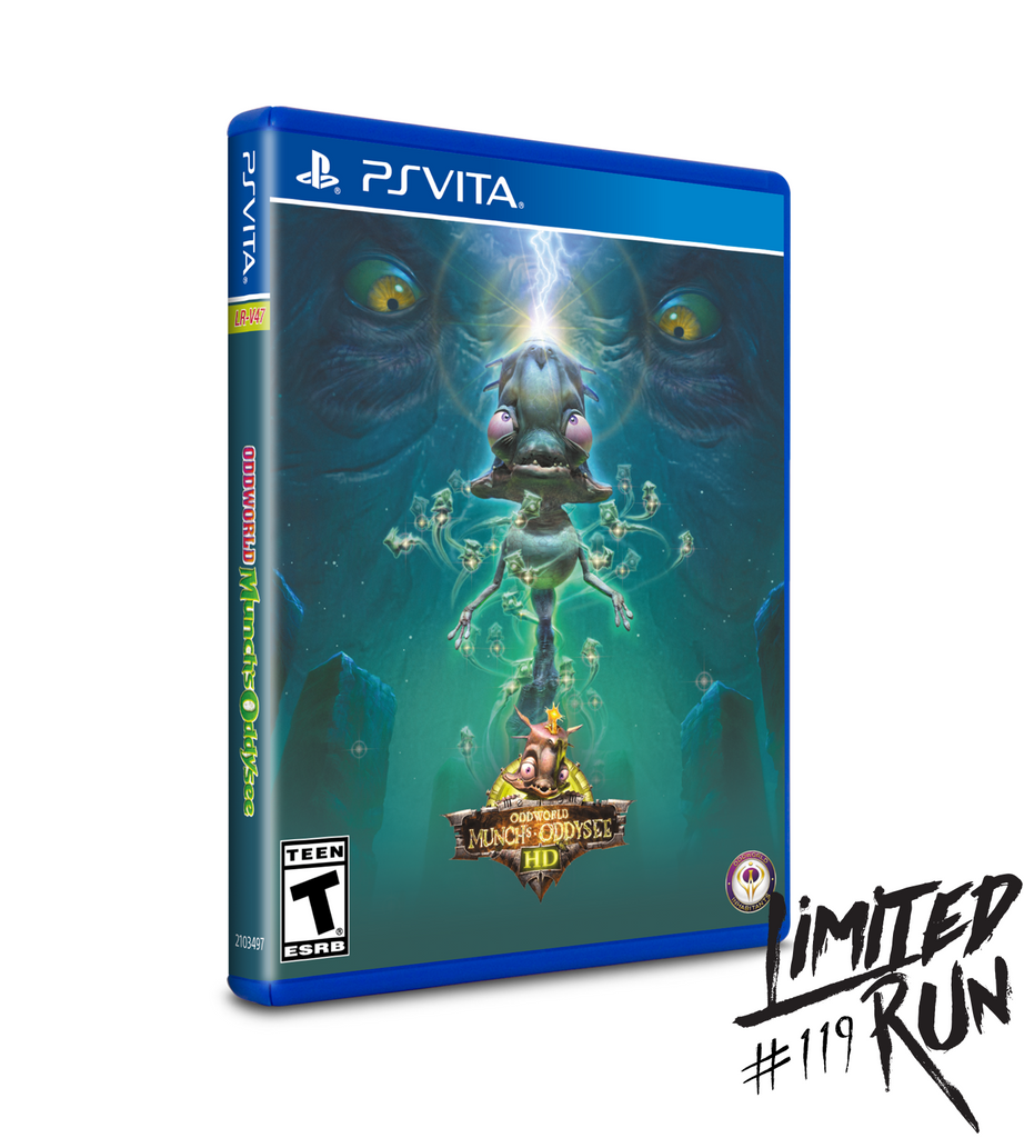 Limited Run #119: Oddworld: Munch's Oddysee HD - PAX Variant (Vita)