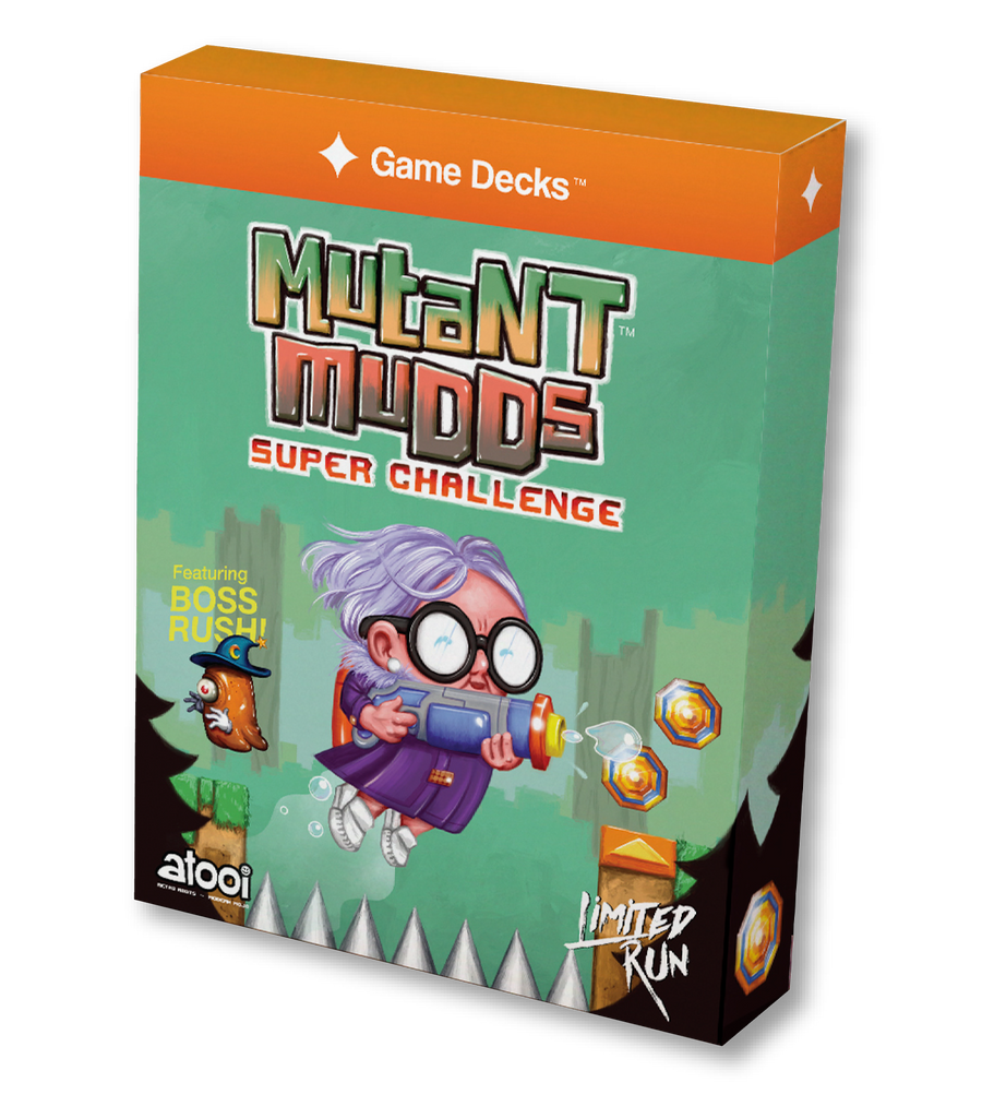 Mutant Mudds Super Challenge Game Decks™ [PREORDER]