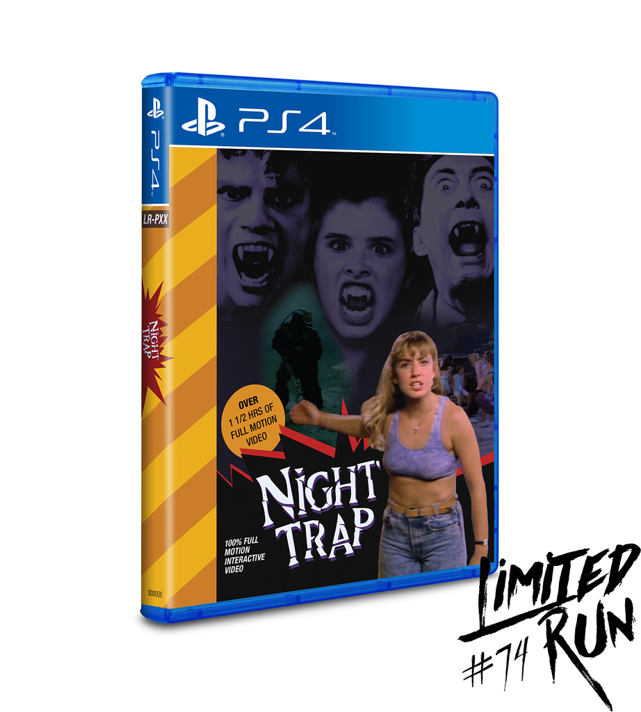 Limited Run #74: Night Trap 32X Variant (PS4)