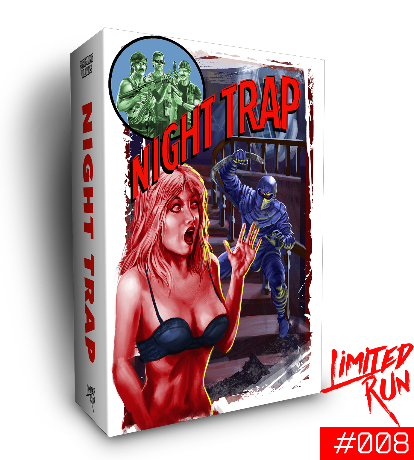 Switch Limited Run #8: Night Trap Classic Edition – Limited