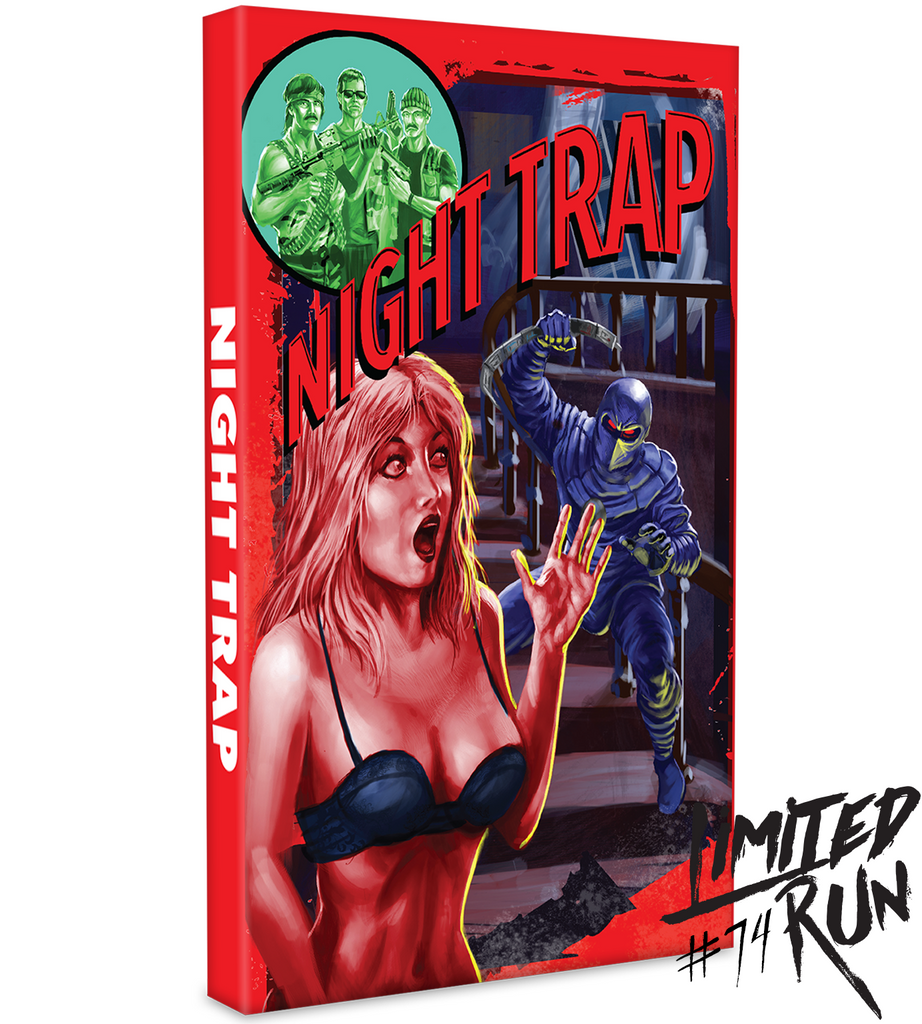 Limited Run #74: Night Trap Collector's Edition (PS4)
