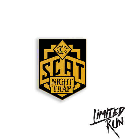 Night Trap Special Control Attack Team Enamel Pin