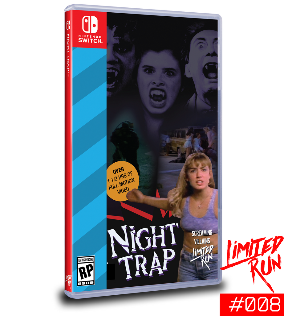Switch Limited Run #8: Night Trap [PREORDER]