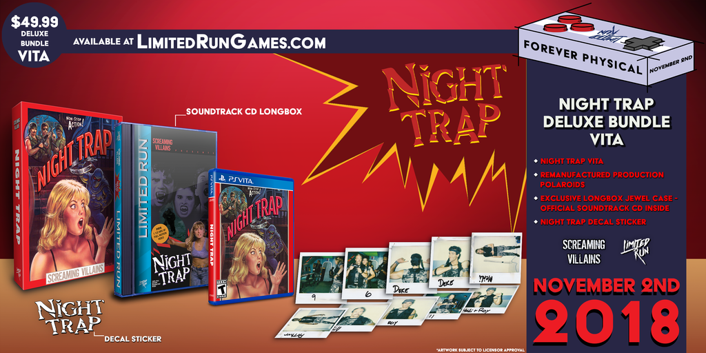 Limited Run #193: Night Trap Classic Edition (Vita)
