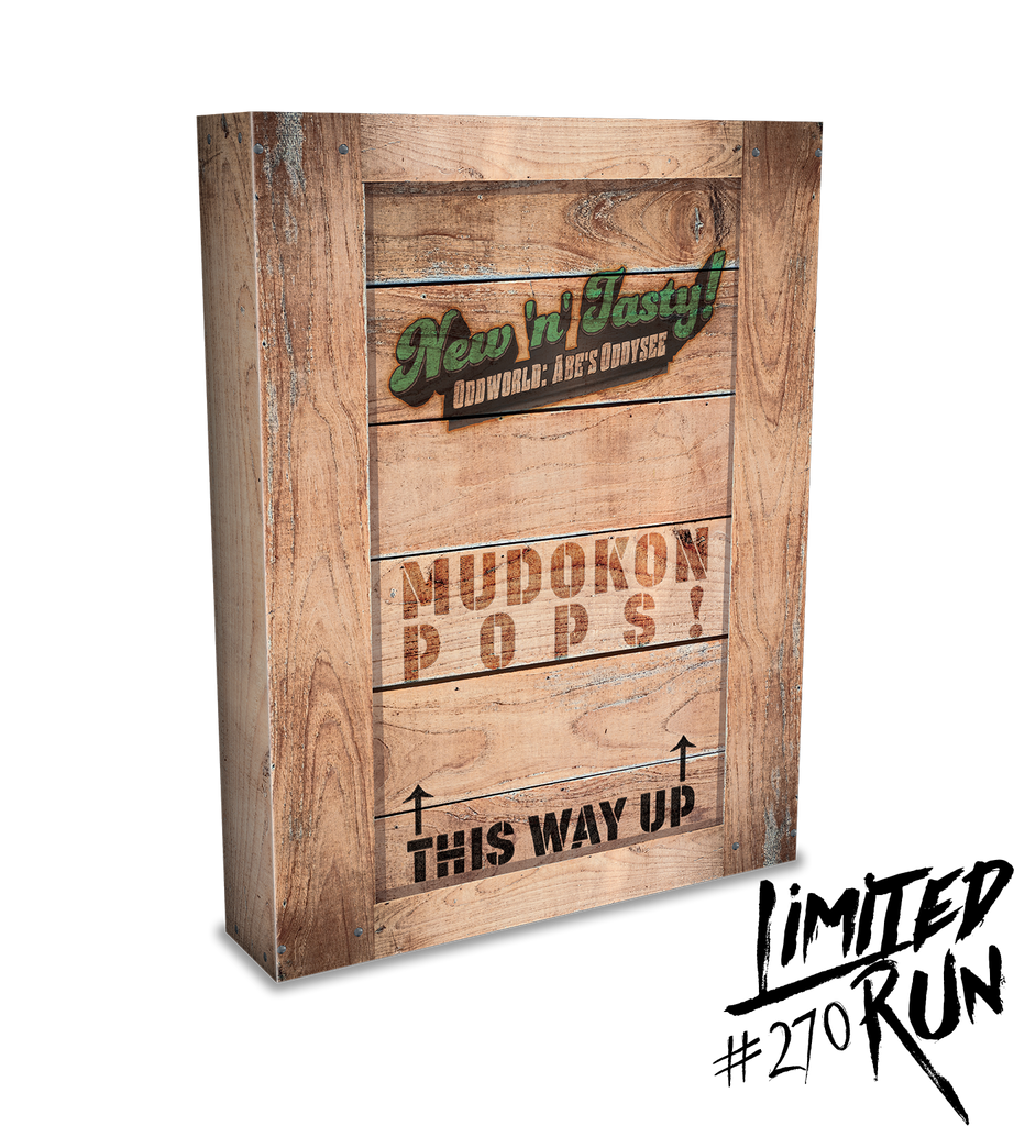 Limited Run #270: Oddworld: New N' Tasty Collector's Edition (PS3)