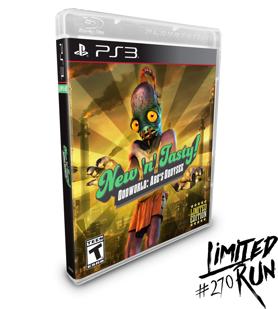 Limited Run #270: Oddworld: New N' Tasty (PS3)