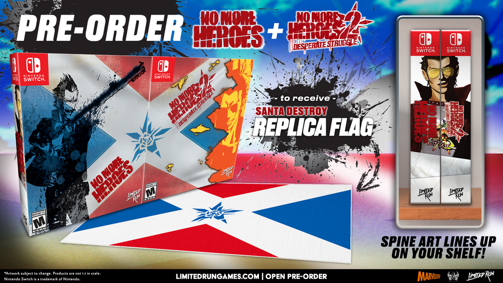 Switch Limited Run #100: No More Heroes 2 Collector's Edition