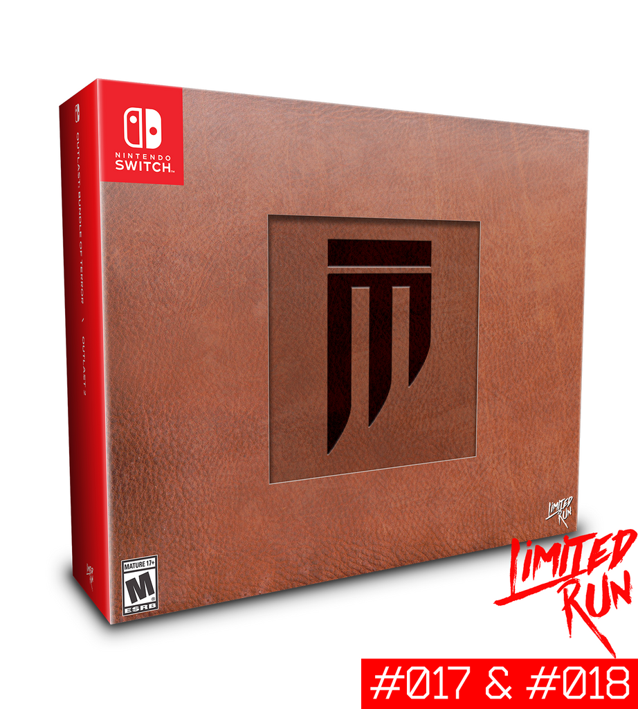 Switch Limited Run #17 & #18: Outlast Murkoff Briefcase Edition