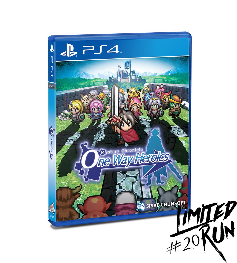 Limited Run #20: Mystery Chronicle One Way Heroics (PS4)
