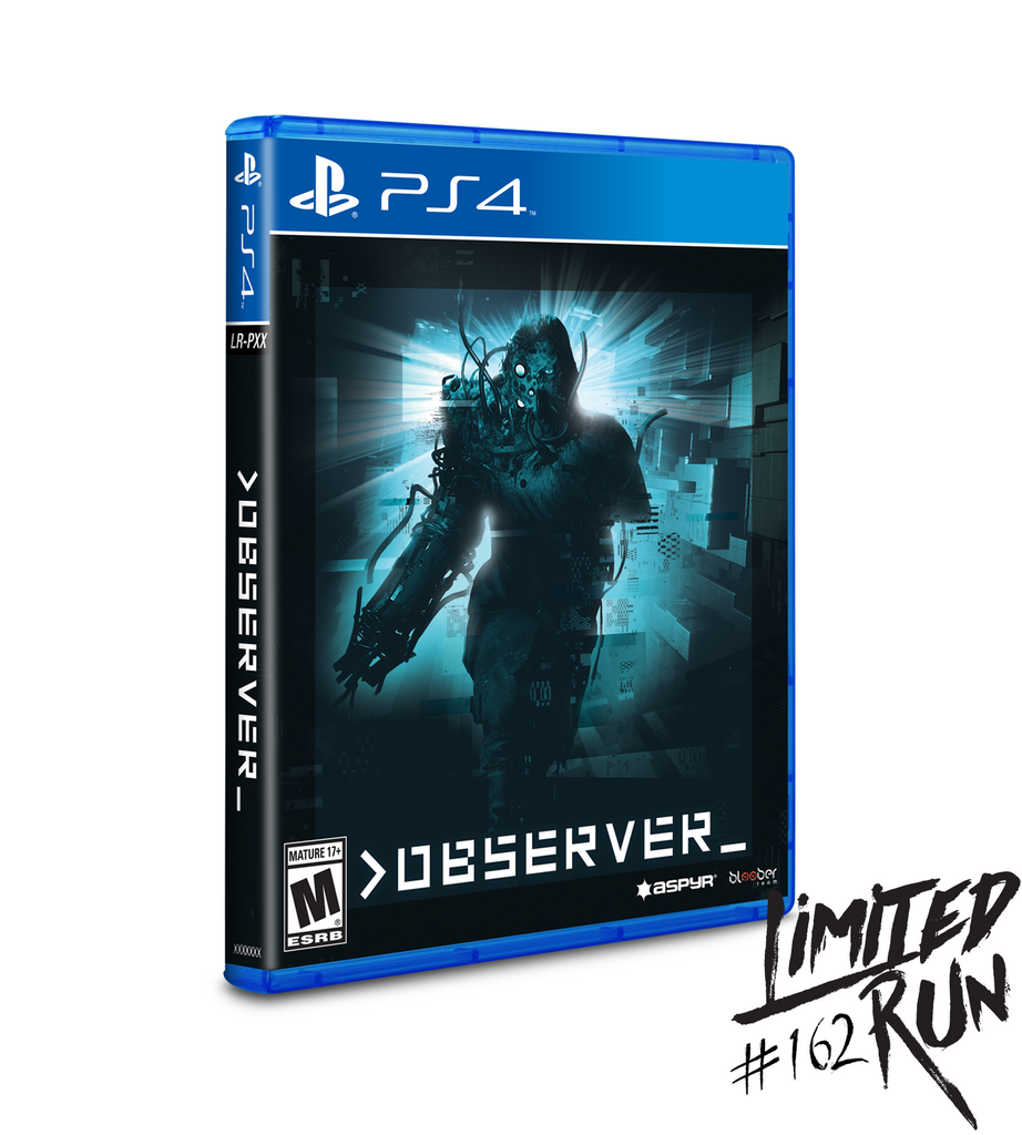 Limited Run #162: Observer (PS4)