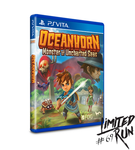 Limited Run #69: Oceanhorn (Vita)