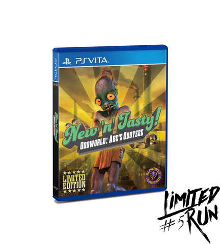 Limited Run #5: Oddworld: New N' Tasty (Vita)