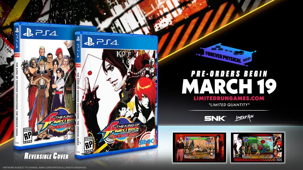 Limited Run #393: The King Of Fighters Collection: The Orochi Saga (PS4)