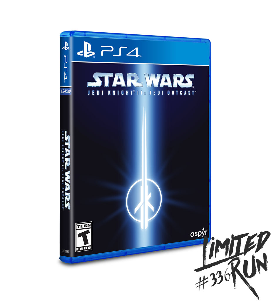 Limited Run #336: Star Wars Jedi Knight II: Jedi Outcast (PS4) [PREORDER]