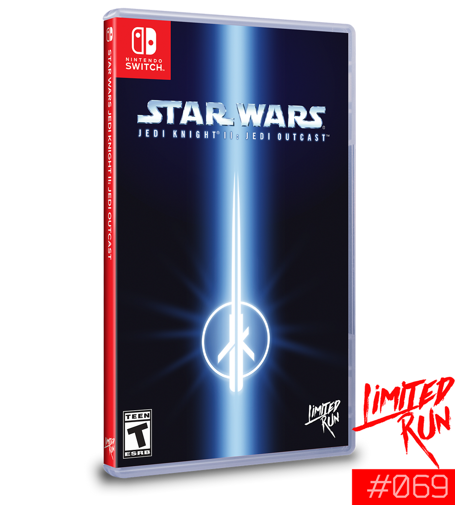 Switch Limited Run #69: Star Wars Jedi Knight II: Jedi Outcast [PREORDER]