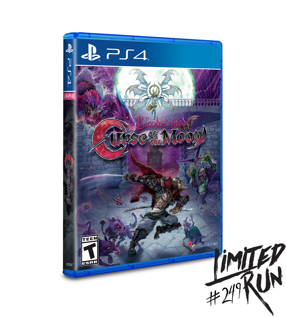 Limited Run #249: Bloodstained: Curse of the Moon PAX Variant (PS4)