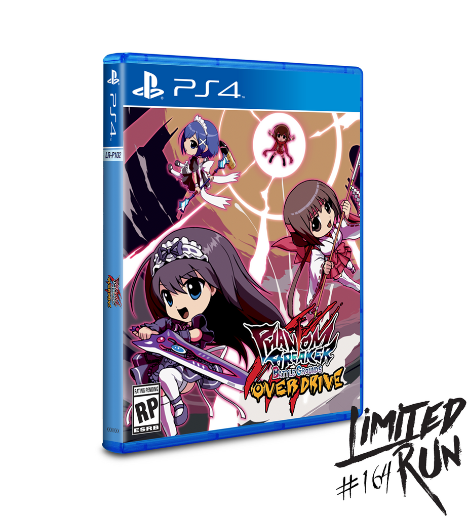 Limited Run #164: Phantom Breaker Battlegrounds Overdrive (PS4)
